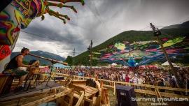 Burning Mountain Festival 2017 Festivalgelände Praschitsch Zernez Tickets