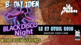 Black Disco Night - DJ Idem & Friends Case à Chocs Neuchâtel Tickets