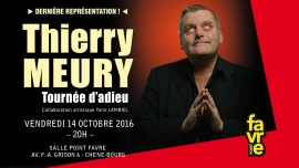Thierry Meury Salle Point favre Chêne-Bourg Billets