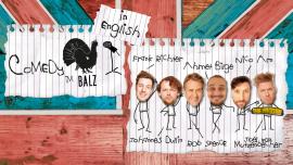 Comedy im Balz in English Balz Klub Basel Billets