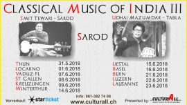 Classical Music of India III Several locations Several cities Tickets