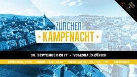 Zürcher Kampfnacht Volkshaus Zürich Billets