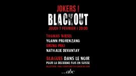 Jokers Blackout Bar Club abc Lausanne Tickets