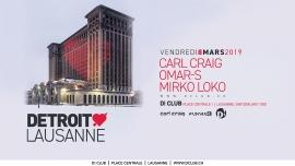 Detroit Love D! Club Lausanne Tickets
