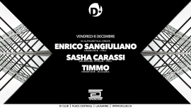 Enrico Sangiuliano D! Club Lausanne Billets