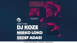 DJ Koze (D) D! Club Lausanne Billets