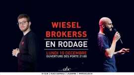 Wiesel & Brokerss Bar Club abc Lausanne Billets