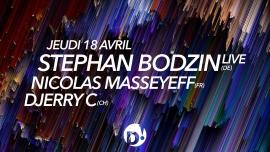 Stephan Bodzin + Nicolas Masseyeff D! Club Lausanne Billets