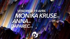 Monika Kruse + Anna D! Club Lausanne Tickets