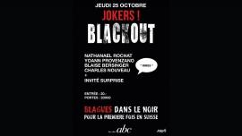 Jokers Blackout Bar Club abc Lausanne Biglietti