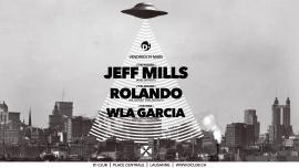 Jeff Mills + Rolando D! Club Lausanne Billets