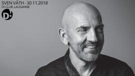 Sven Väth D! Club Lausanne Biglietti