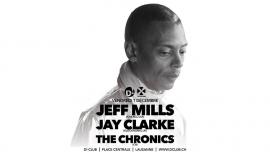Jeff Mills (USA) + Jay Clarke (UK) D! Club Lausanne Biglietti