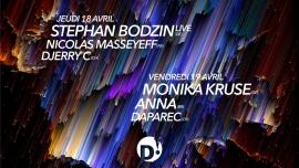 Passe Stephan Bodzin + Monika Kruse D! Club Lausanne Billets