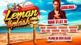Leman Splash Mega Beach Party Plage de Rive Bleue / La Lagune Bouveret Billets