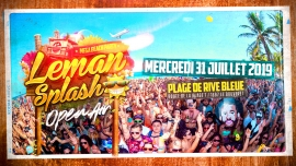 Leman Splash Mega Beach Party Plage de Rive Bleue / La Lagune Bouveret Billets