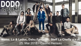 Dodo & Friends Casino Herisau Billets