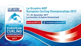 Le Gruyère AOP European Curling Championships Eissportzentrum Lerchenfeld St. Gallen Tickets