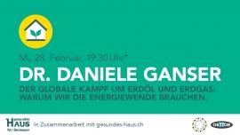 Dr. Daniele Ganser OSTTOR Winterthur Billets