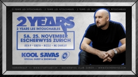 2 Years Les Intouchables. Escherwyss, Hardstr. 305 Zürich Tickets