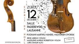 Esprit de Noël Salle Paderewski Lausanne Billets
