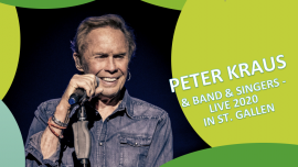Peter Kraus & Band & Singers Olma Halle 2.1 St.Gallen Billets