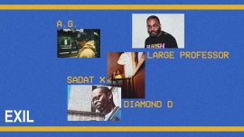 Diamond D, Sadat X, AG & Large Professor EXIL Zürich Tickets