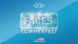 FACES Sommerfest 2018 Lake Side Zürich Billets