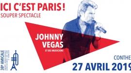 """Souper-spectacle """"Ici c'est Paris"""" Salle Polyvalente Conthey (Valais) Billets"""