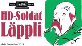 HD-Soldat Läppli Theater Fauteuil Basel Tickets