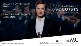 Lausanne Soloists Beau-Rivage Palace, Salle Sandoz Lausanne-Ouchy Tickets