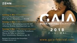 GAIA Musikfestival Oberhofen Locations diverse Località diverse Biglietti