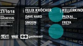 Abflug Berlin mit Felix Kröcher & Kellerkind Gaskessel Bern Billets