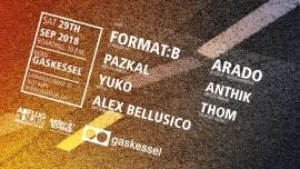 Abflug Berlin w/ Format B. Gaskessel Bern Biglietti