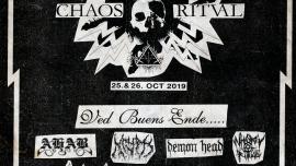 Chaos Ritval Gaswerk Winterthur Tickets