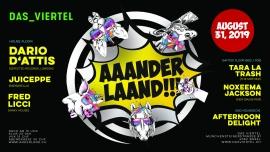 Anderland Sommerfest Viertel Klub Basel Billets