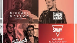 SWAY Streetparade Afterparty Härterei Club Zürich Tickets