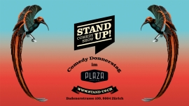 PLAZA CLUB meets STAND UP! Comedy Plaza Zürich Tickets