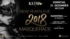 New Year's Eve 2018 - Masquerade Karma Club Bern Tickets