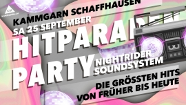 Hitparaden Party Kammgarn Schaffhausen Tickets