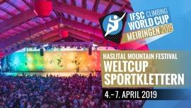 IFSC Climbing Worldcup 2019 Boulderarena, Kletterhalle Haslital Meiringen Biglietti