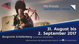 The Princely Liechtenstein Tattoo Historische Burgruine Schellenberg Schellenberg Biglietti