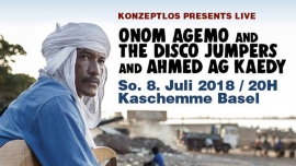 Onom Agemo and the Disco Jumpers Kaschemme Basel Tickets
