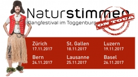 Naturstimmen on Tour - 2017 Elisabethenkirche Basel Tickets