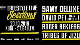 Freestyle Live Sessions Kugl St.Gallen Tickets