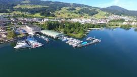 Werftführung mit Apéro Rundfahrt HENSA Lago Marina Altendorf Billets