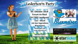 Lederhos'n Party Forum im Ried Landquart Billets