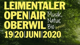 Leimentaler OpenAir 2021 Bruderholzhof Oberwil BL Tickets