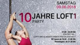 10 Jahre Loft1 AURA Club Zürich Tickets