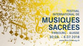 17e Festival International de Musiques Sacrées Eglise du Collège Saint-Michel Fribourg Biglietti